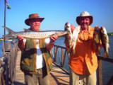Barracuda & Butterfish caught off Mantel Reef