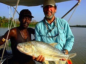 Tigerfish - onboard The African-Angler