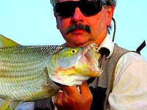 Angler Chris Broad & his Tigerfish
